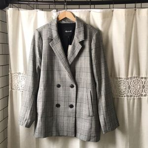 NWT Madewell Caldwell Double Breasted Blazer